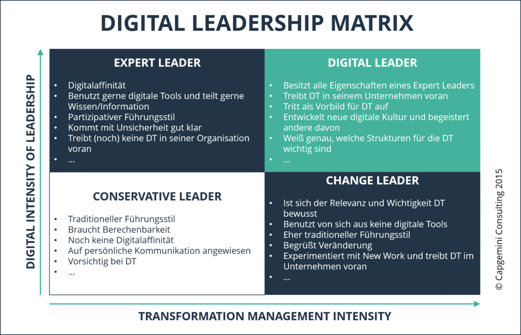 Digital Leader Matrix