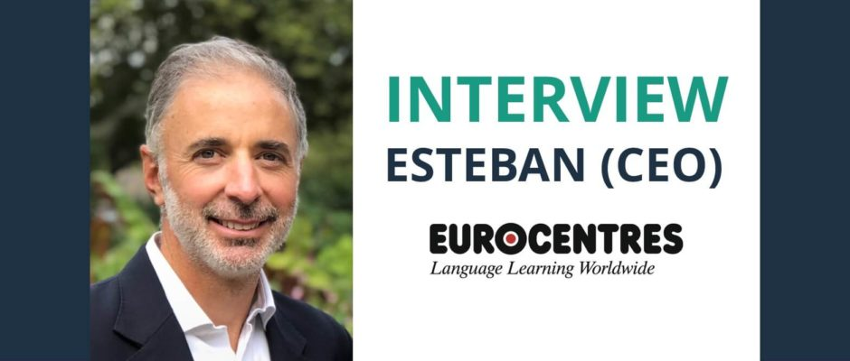Interview Esteban Jurado Traverso CEO at Eurocentres